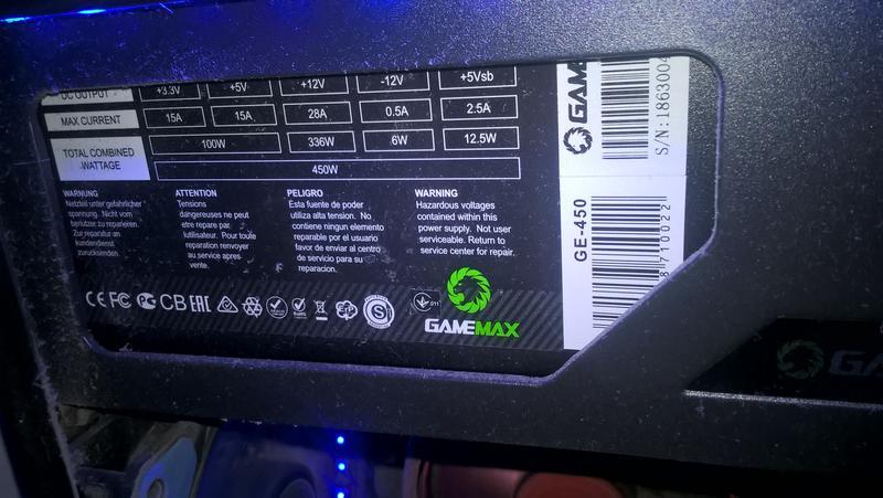 Игровой компьютер AMD FX(tm) , GT710 , ssd 120, hdd 500, 8gb озу - Фото 4