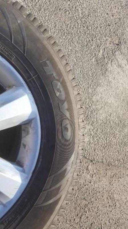 Литые диски R17 с зимней резиной 265/65 R17 - Фото 4
