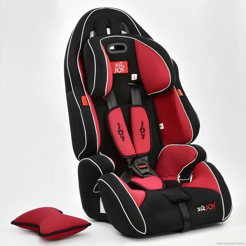 Автокресло универсальное G 1699 (2) Цвет чёрно-красный 9-36 кг Jo