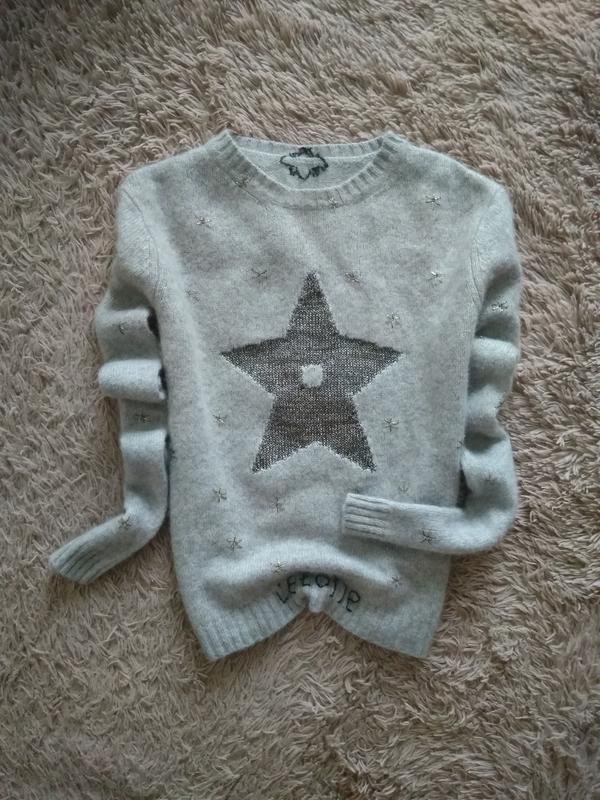 Теплий,мягкий,уютний свитер от grape sasa,p.s
