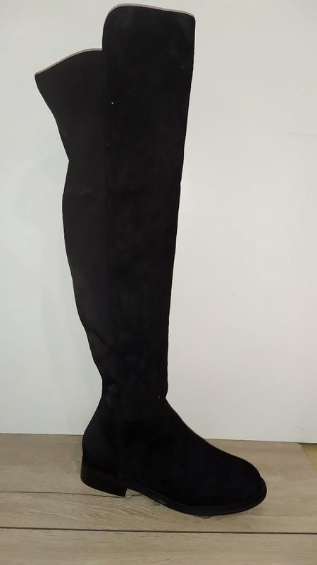 Нарядные ботфорты  деми женские сапоги сапожки осень чоботи