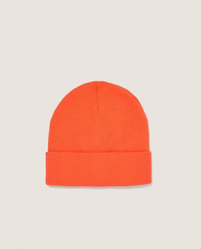 Чоловіча неонова шапка zara