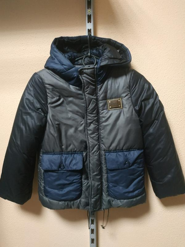 Зимняя куртка для мальчика 6-8 лет люкс бренд