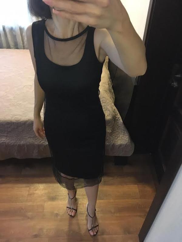 Вечернее платье сетка imperial