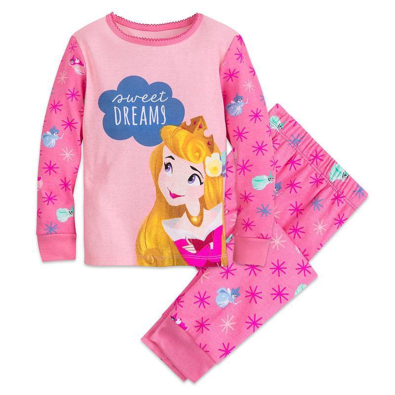 Детская пижама принцесса аврора 5,6,7,8 лет дисней америка
