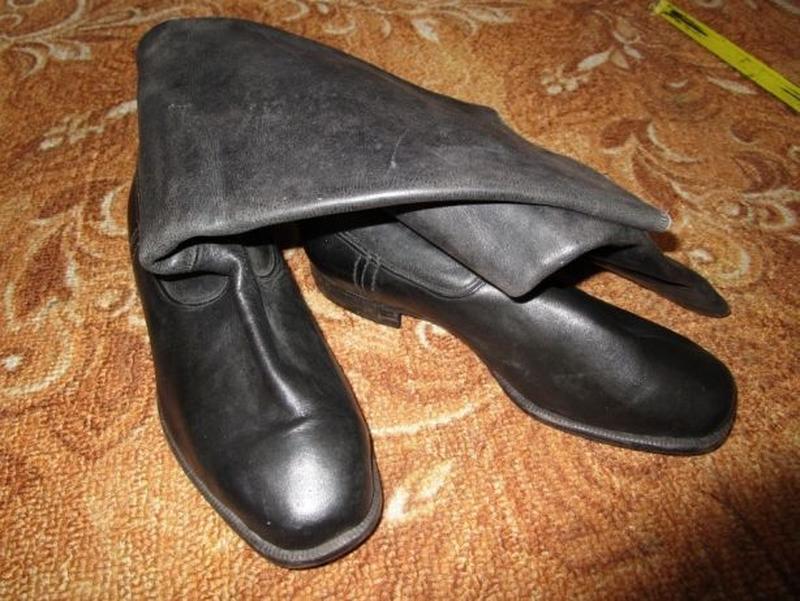 Сапоги новые хромовые офицерские 1952 г. 41 р. чоботи хромові ...