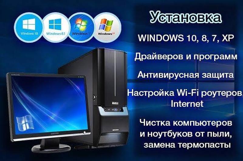 Чистка от вирусов и установка программ