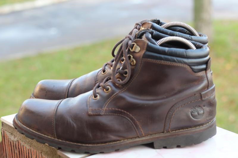 Кожаные ботинки timberland 45-46