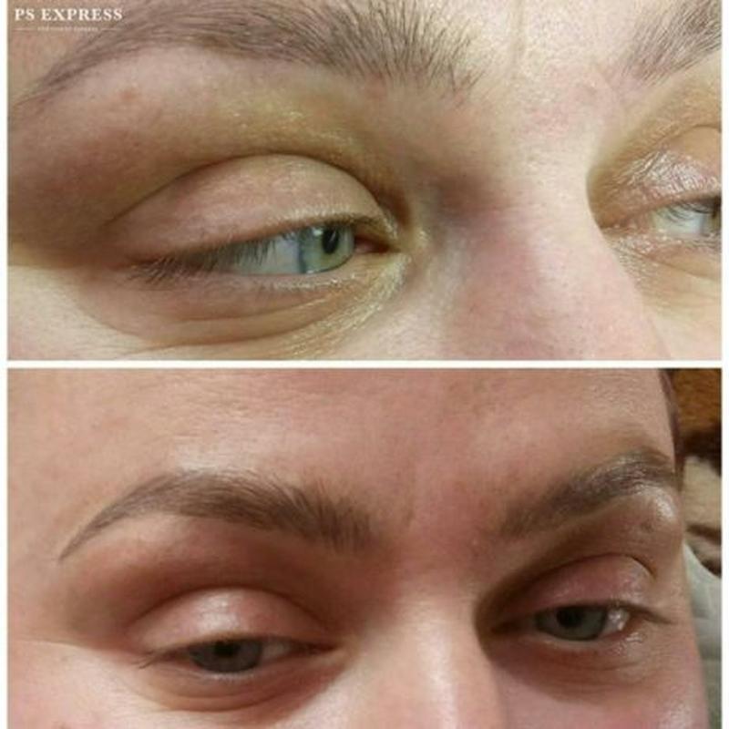 перманентный макияж (брови, губы, веки) микроблейдинг -волоско...