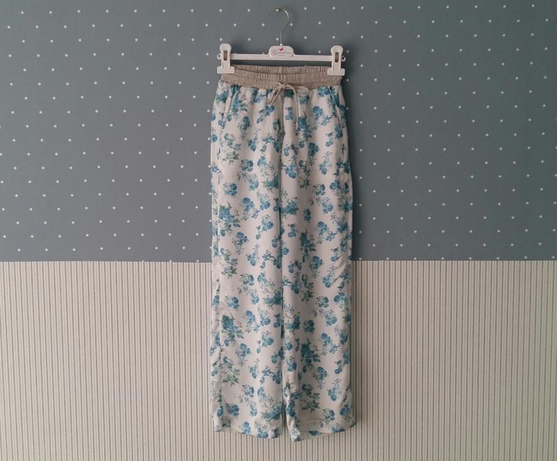 Легкие штаны-кюлоты to be too (италия) на 8-10 лет (размер 128...