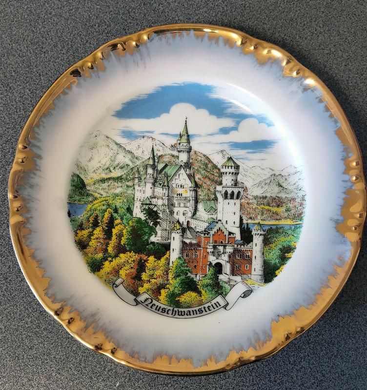 Тарелка коллекционная настенная, декоративная Германия