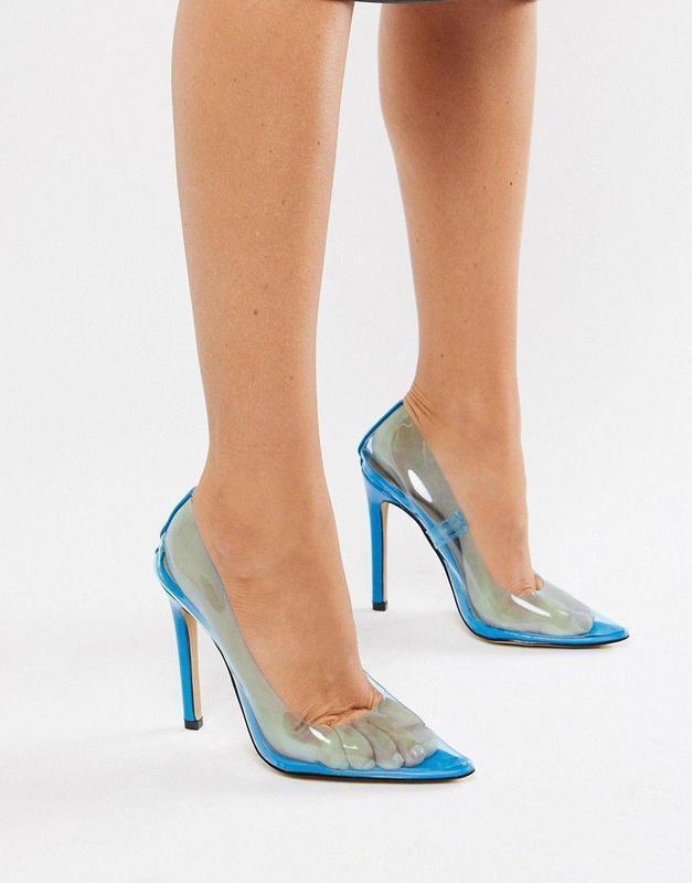 Силиконовые лодочки, прозрачные туфли