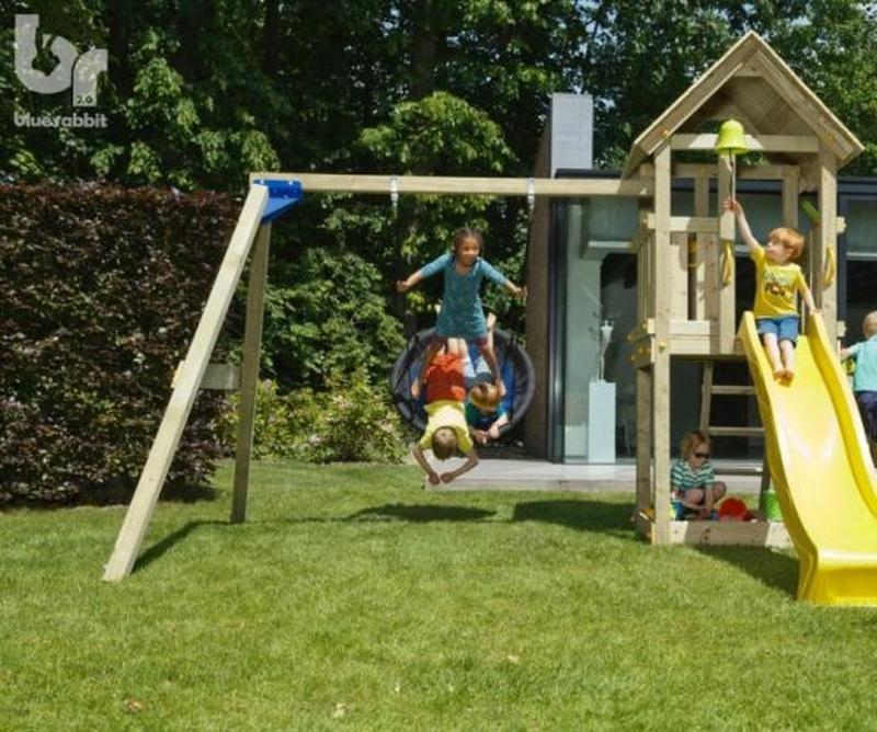 Детская игровая площадка KIOSK + SWING (Blue Rabbit) - Фото 5