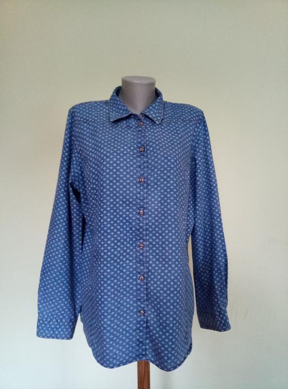 Стильная рубашка в стиле кантри