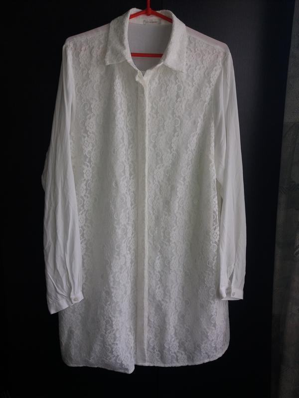 Шикарная туника-рубашка lc waikiki p.46
