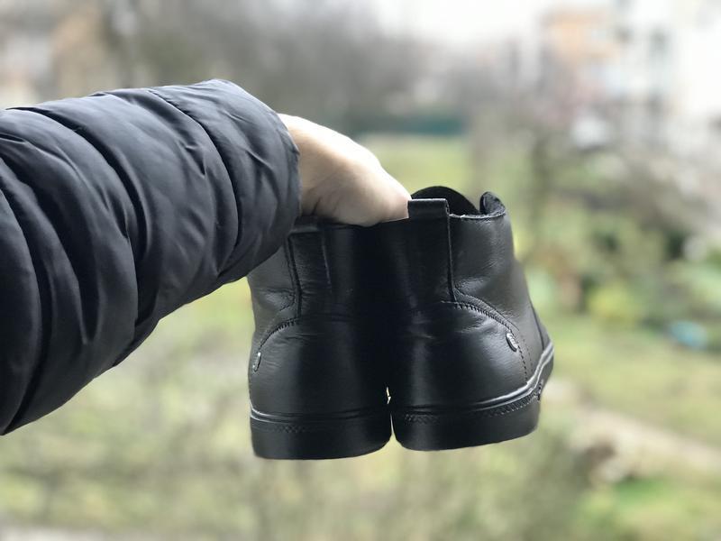 Adidas neo зимові шкіряні кросівки ботінки оригінал