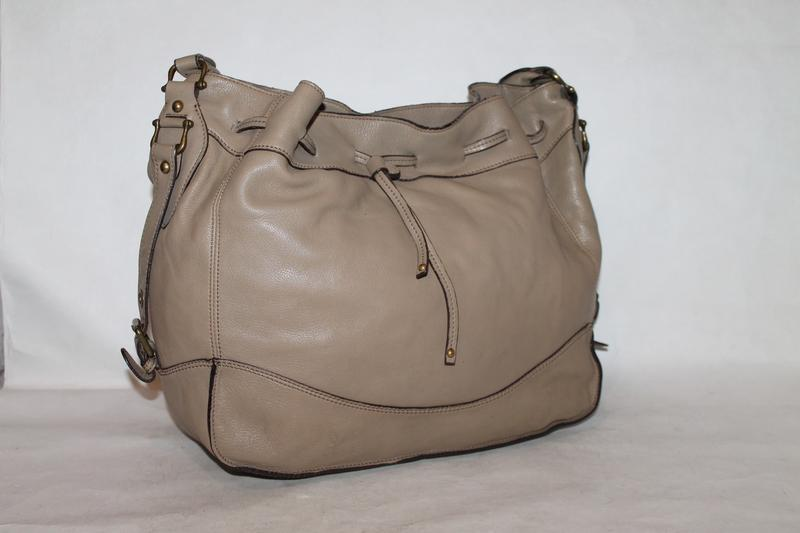 Большая кожаная сумка rabeanco 100% натуральная кожа