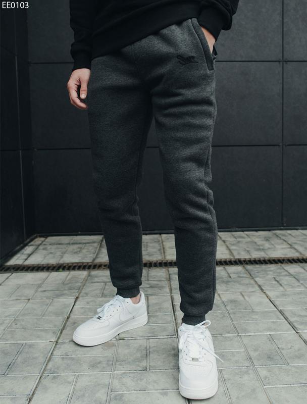 Спортивные штаны staff logo grafit fleece