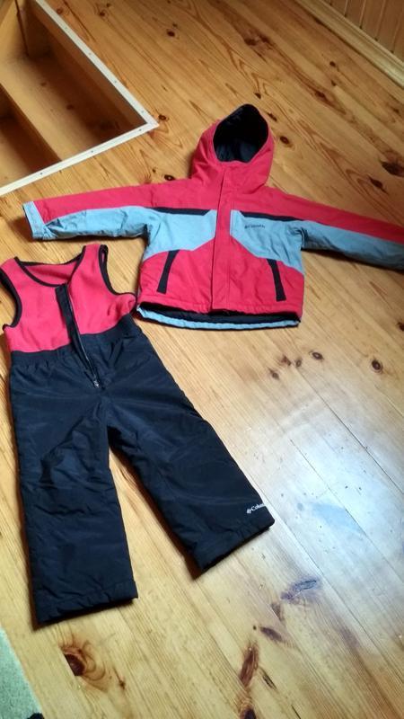 Зимний костюм куртка и полукомбинезон для мальчика columbia