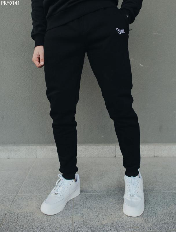 Спортивные штаны staff logo black fleece