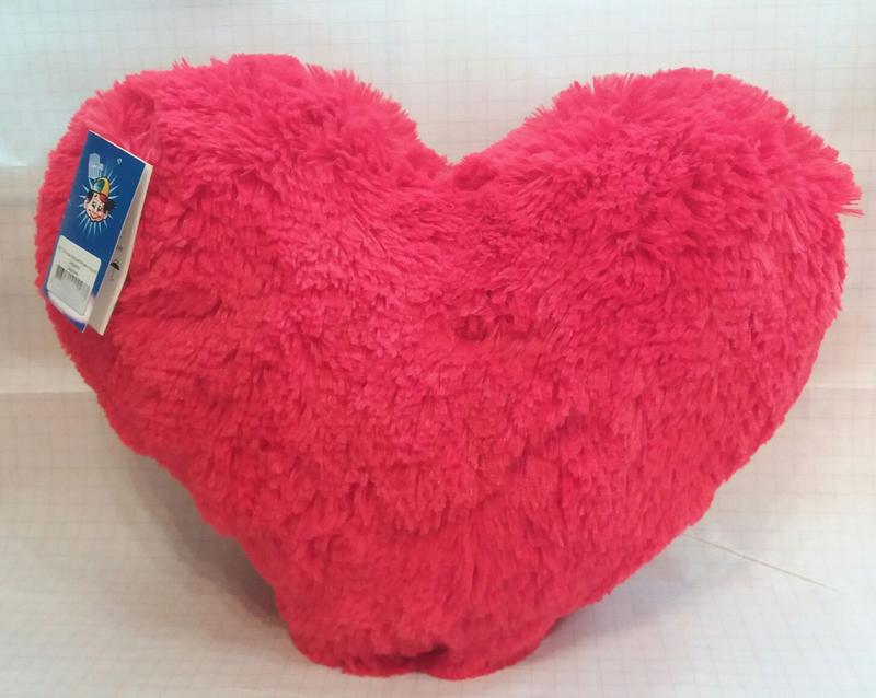 Мягкая игрушка сердце - Фото 2