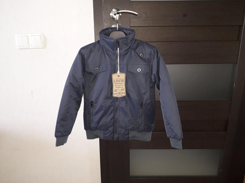 """Новая фирменная куртка """"e-bound"""" р.134-140(бельгия)."""