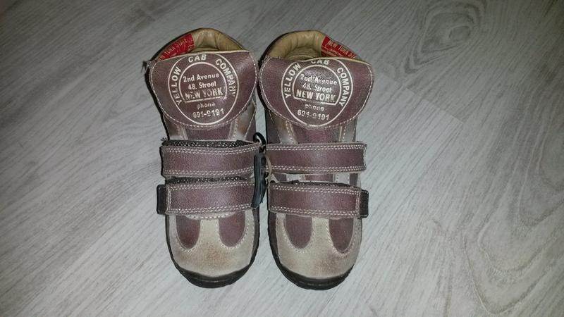 """Новые качественные фирменные кожаные ботинки """"yellow cab"""" р.32..."""