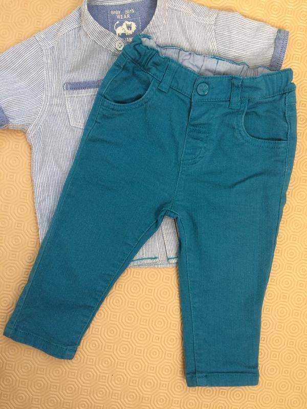 Детские джинсы на 6-9 месяцев