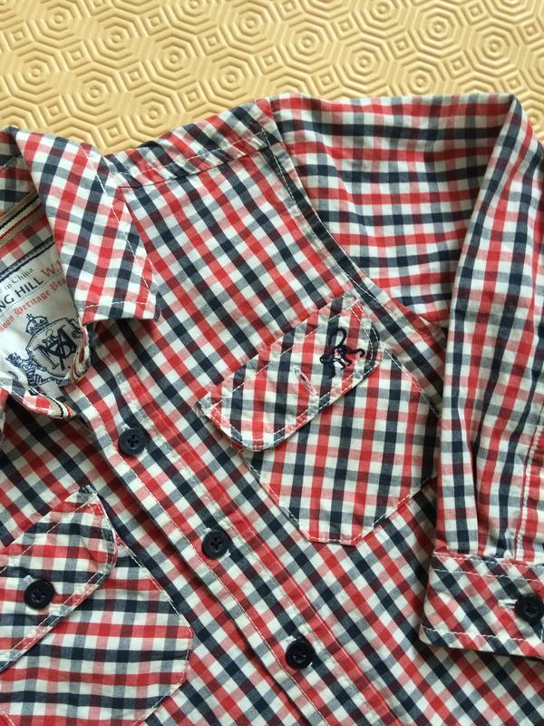 Тонкая клетчатая рубашка/рубашка в клетку