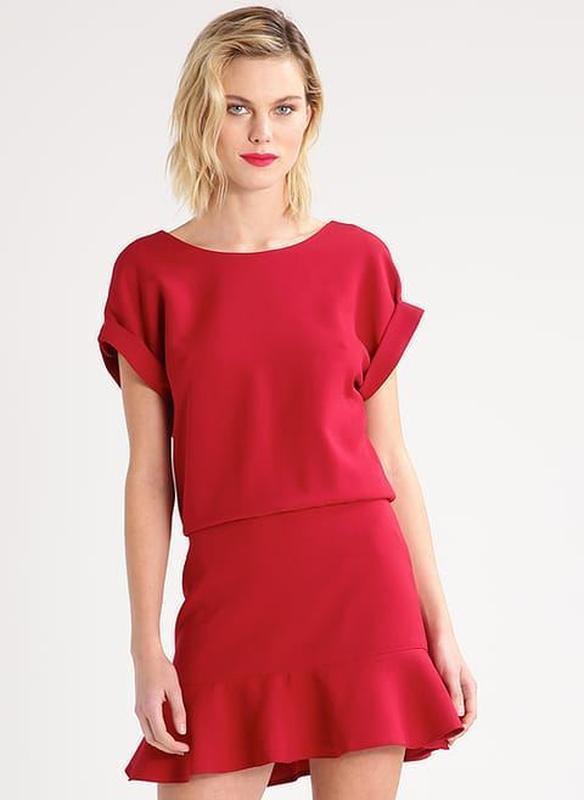 Красное платье французского бренда lenny b