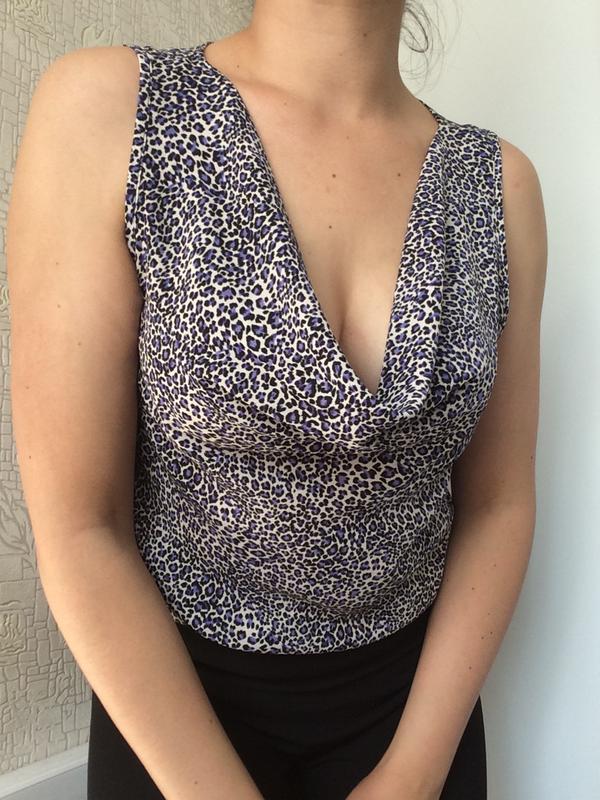 Блузка/топ в леопардовый принт
