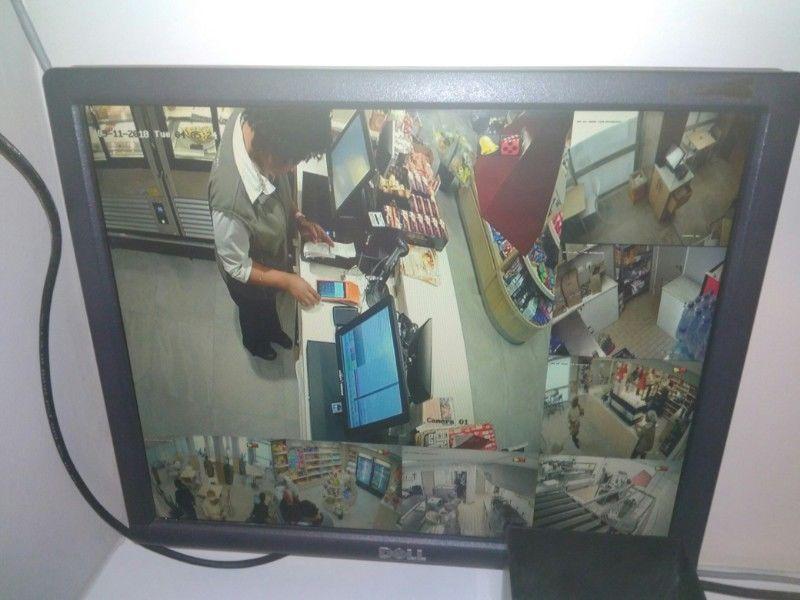 Установка систем видеонаблюдения, и охранных систем безопаснос...