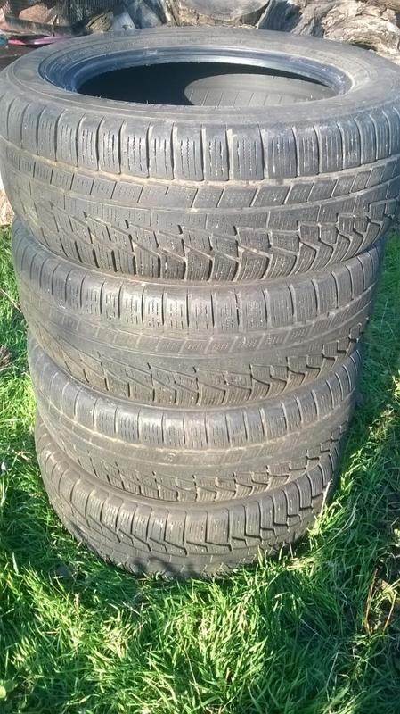 Продам шины зимние б\у 215\60R16 99 H XL (комплект 4 штуки)