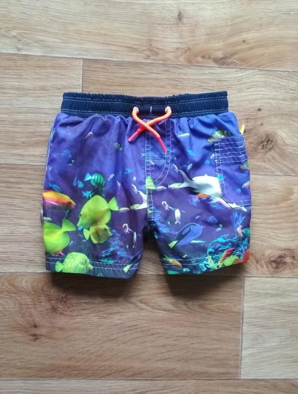 Пляжные шорты в рыбках