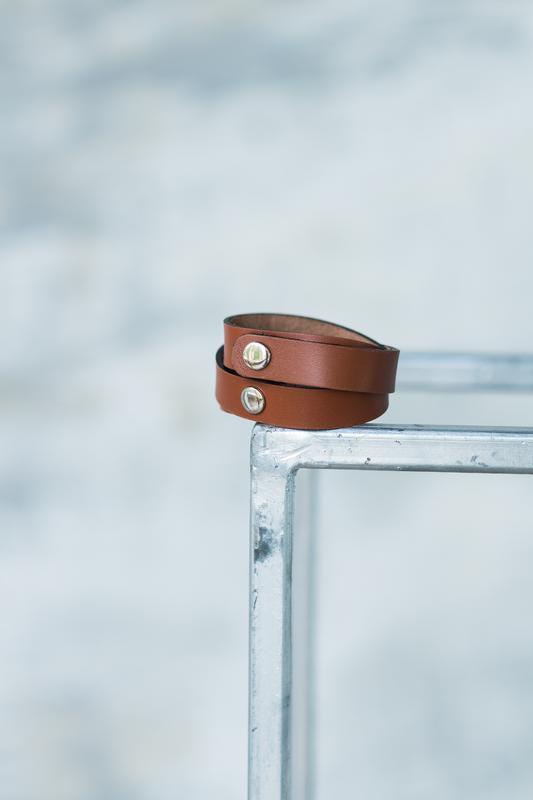 Кожаный браслет, ручная работа, шкіряний браслет, hand made - Фото 3