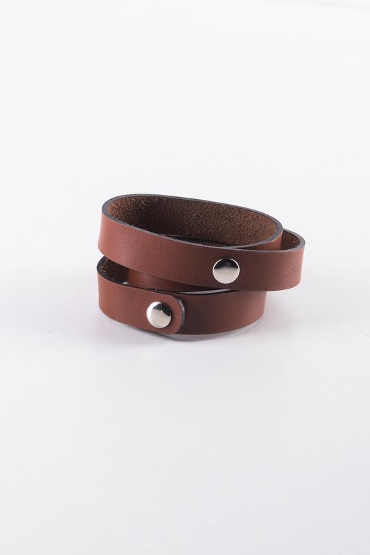 Кожаный браслет, ручная работа, шкіряний браслет, hand made - Фото 5