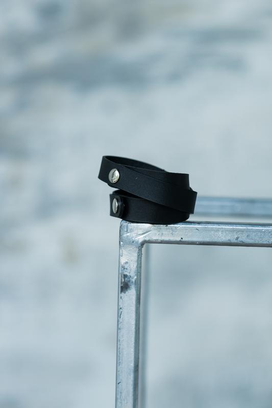Кожаный браслет, ручная работа, шкіряний браслет, hand made - Фото 6