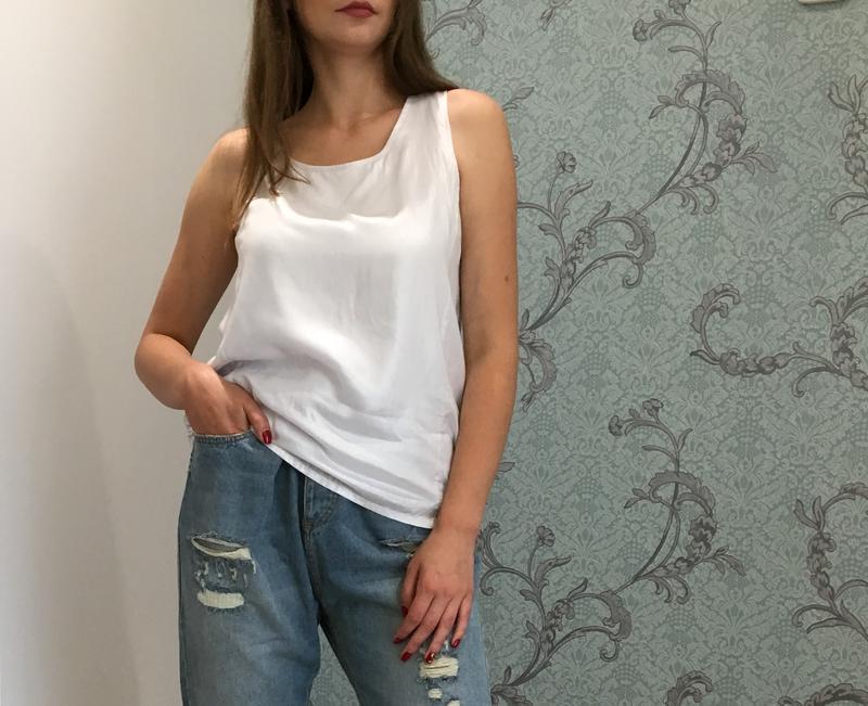 Белая блуза от vila