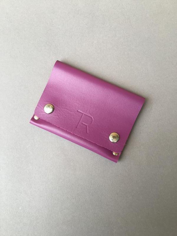 Міні гаманець з натуральної шкіри, мини-кошелек, hand made.