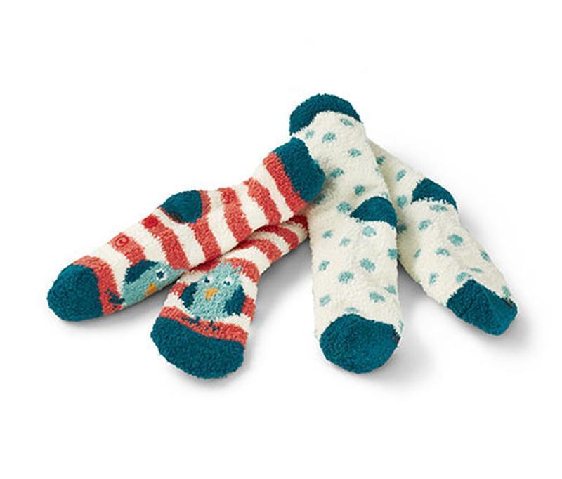 Шикарные плюшевые носочки с тормозками от tchibo, германия - р...
