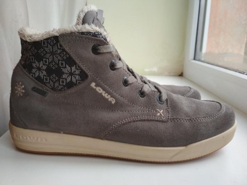 Зимние ботинки lowa gore tex р. 39.5