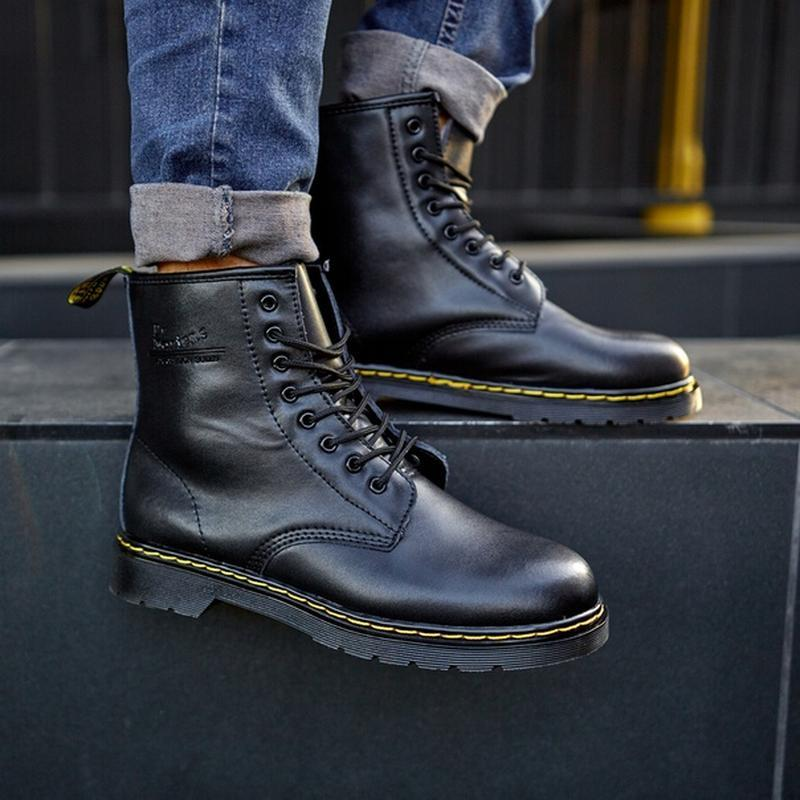 😬dr.martens 1460 black😬зимние мужские кожаные чёрные ботинки м...