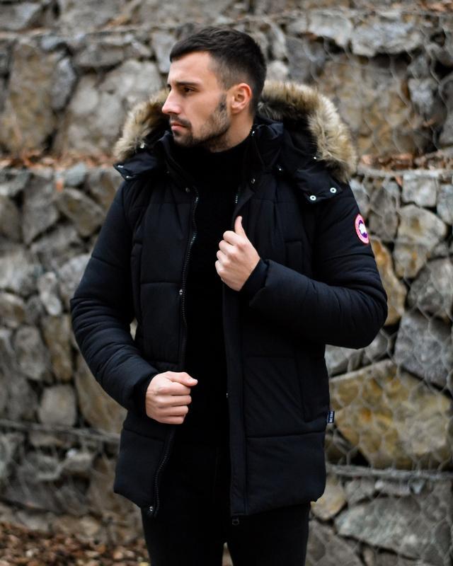 Стильная Мужская Зимняя Куртка Akula Топ Качество