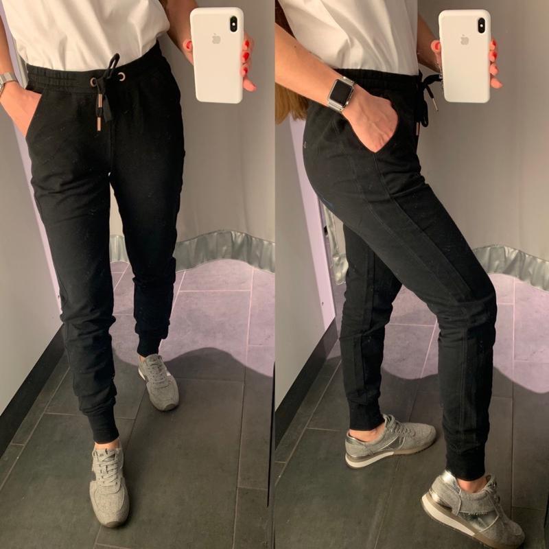 Базовые чёрные спортивные штаны джаггеры amisu есть размеры