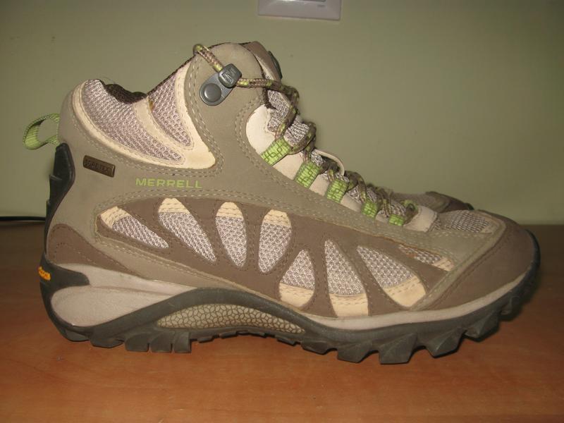 Демисезонные ботинки merrell gre tex р.38