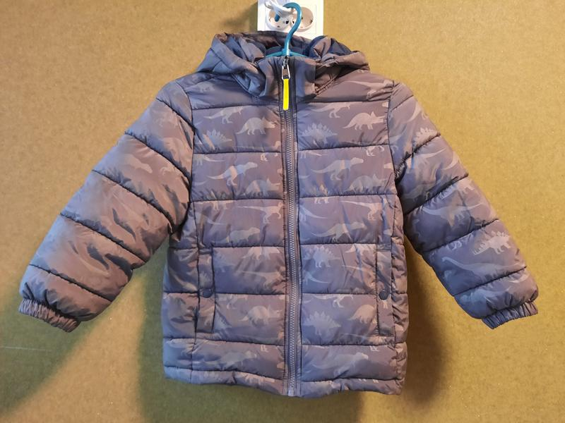 Куртка утепленная еврозима на мальчика 5-6 лет