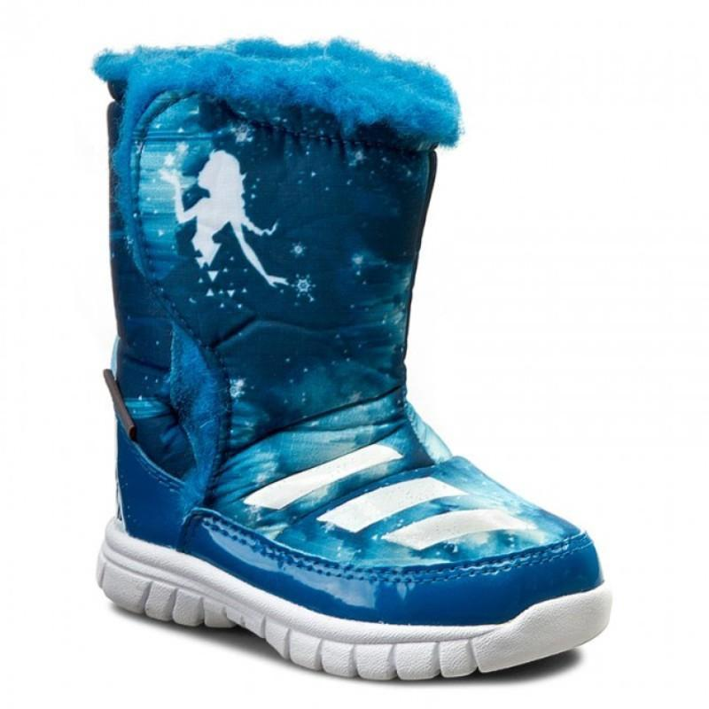 Детские сапоги adidas disney frozen kids артикул aq3656