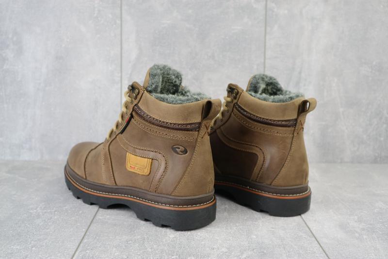 Мужские зимние ботинки {натуральная кожа} - Фото 5