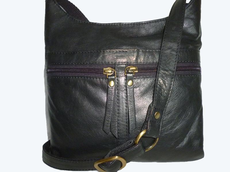 Стильная сумка натуральная кожа south