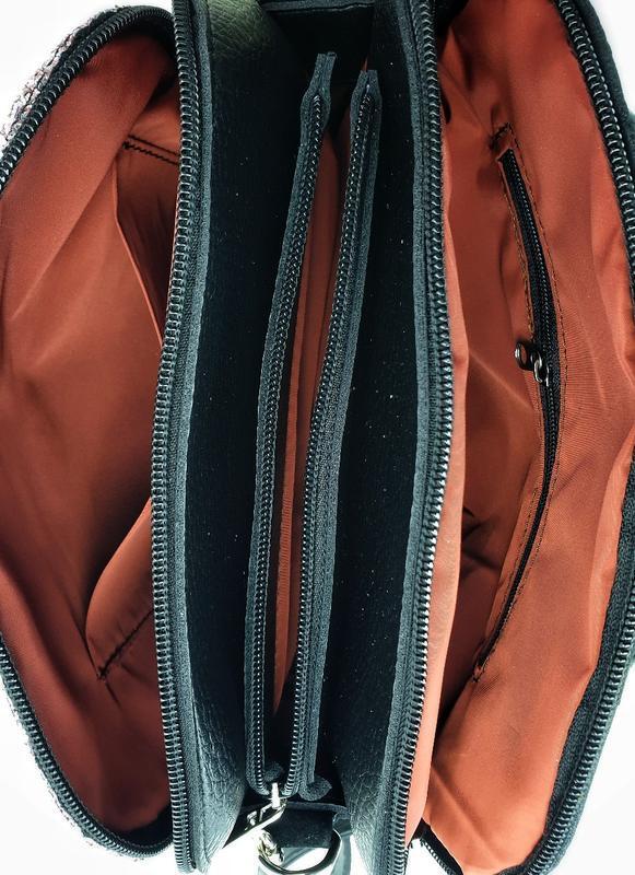Сумка клатч крос боди глитер еко кожа есть цвета через плечо д... - Фото 5